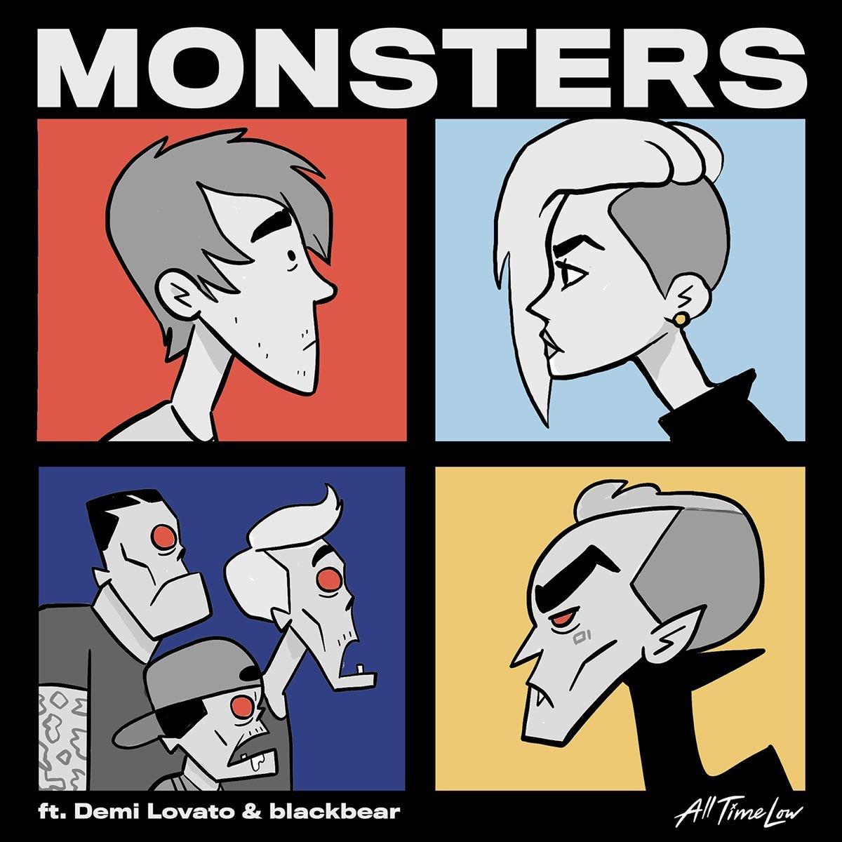 All Time Low - Monsters (Feat. Demi Lovato & blackbear)