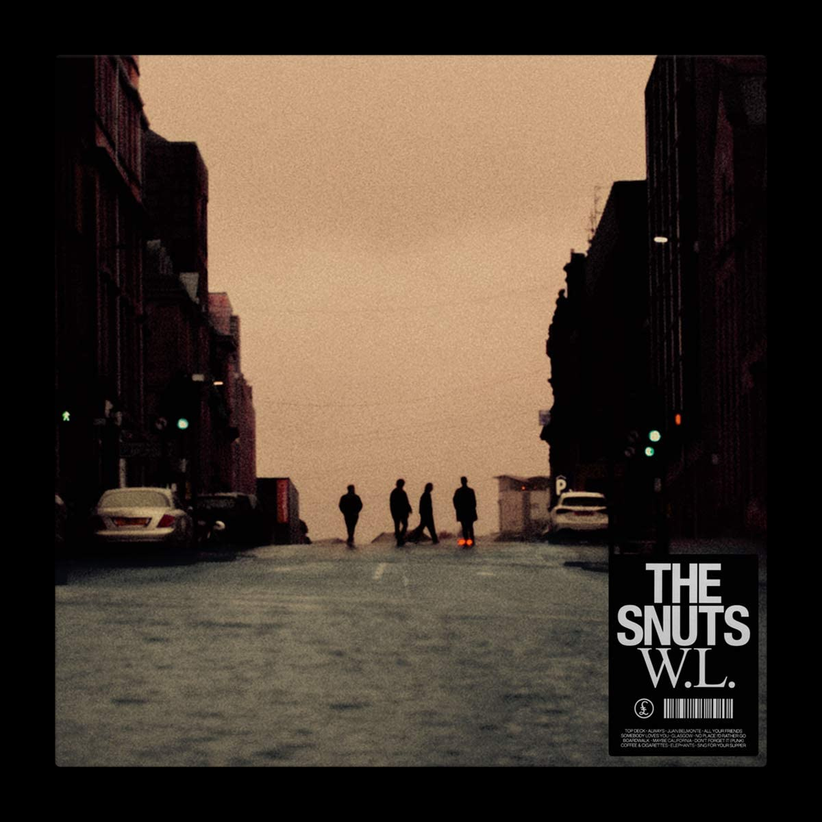 Produced by Tony Hoffer! The Snuts W.L. debuts at #1 on the UK Official Album Chart 100!