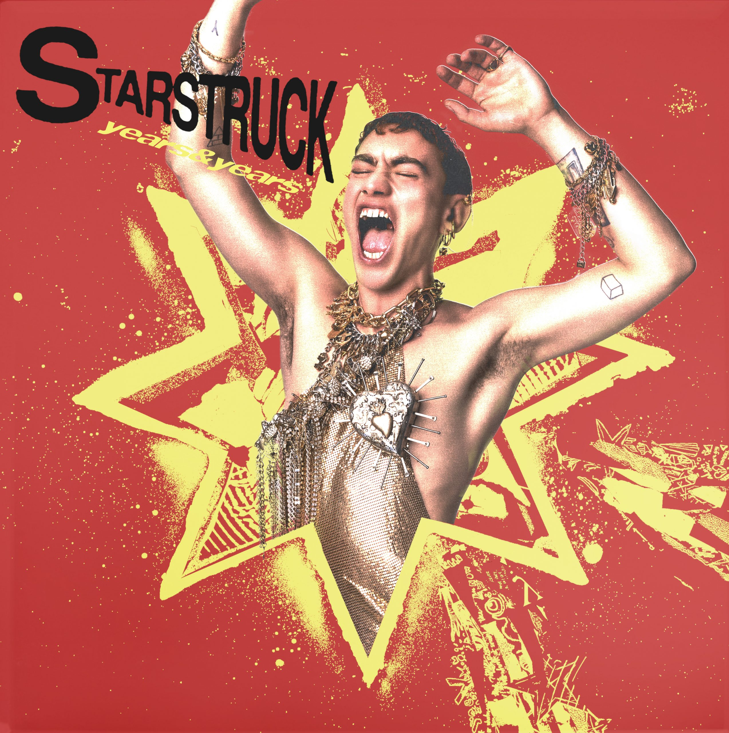 """Co-Written by Coffee!  """"Starstruck"""" by Years & Years hits #1 on UK Radio Airplay Chart!"""